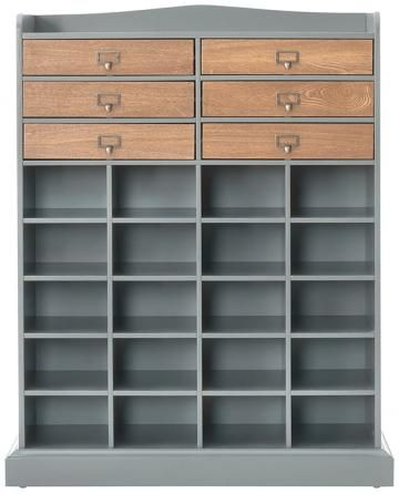 Hudson Shoe Cubby From Home Decorators Fabric Storage