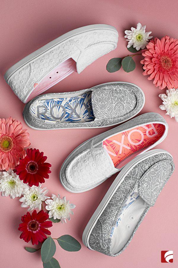 roxy Canvas Shoes | Roxy shoes, Shoes