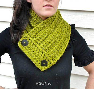 lo último 2ad5b f77ee bufanda-buff (crochet neck wrap) | Crochet patterns I Love ...