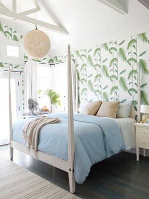 Tropical Bedroom WHITES Pinterest Tropical bedrooms, Bright