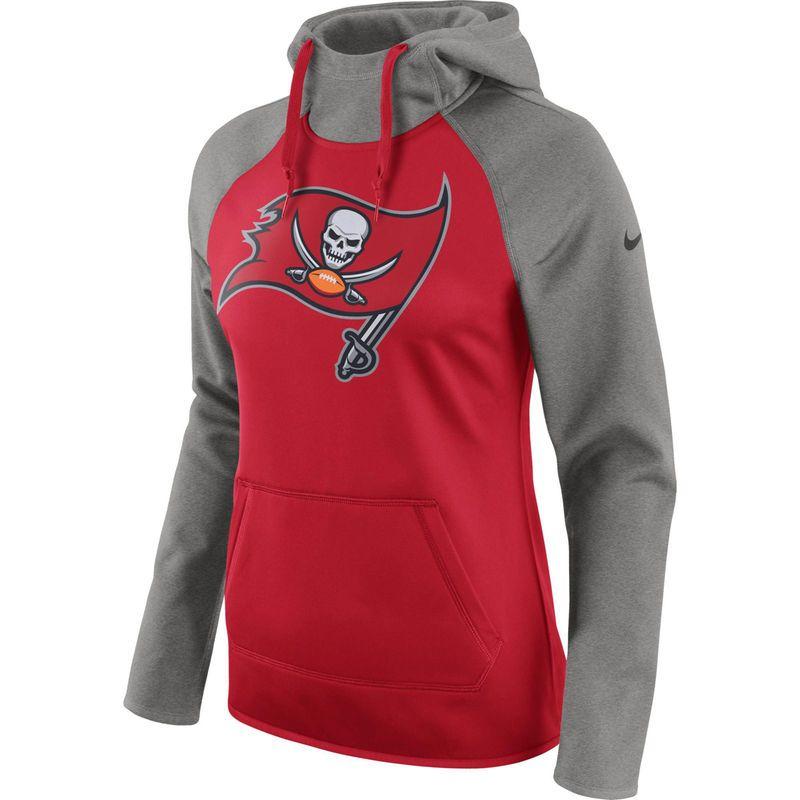 Nike Atlanta Falcons Logo Pullover Hoodie Grey