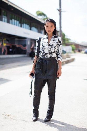 Margaret Zhang of Shine By Three at Australian Fashion Week