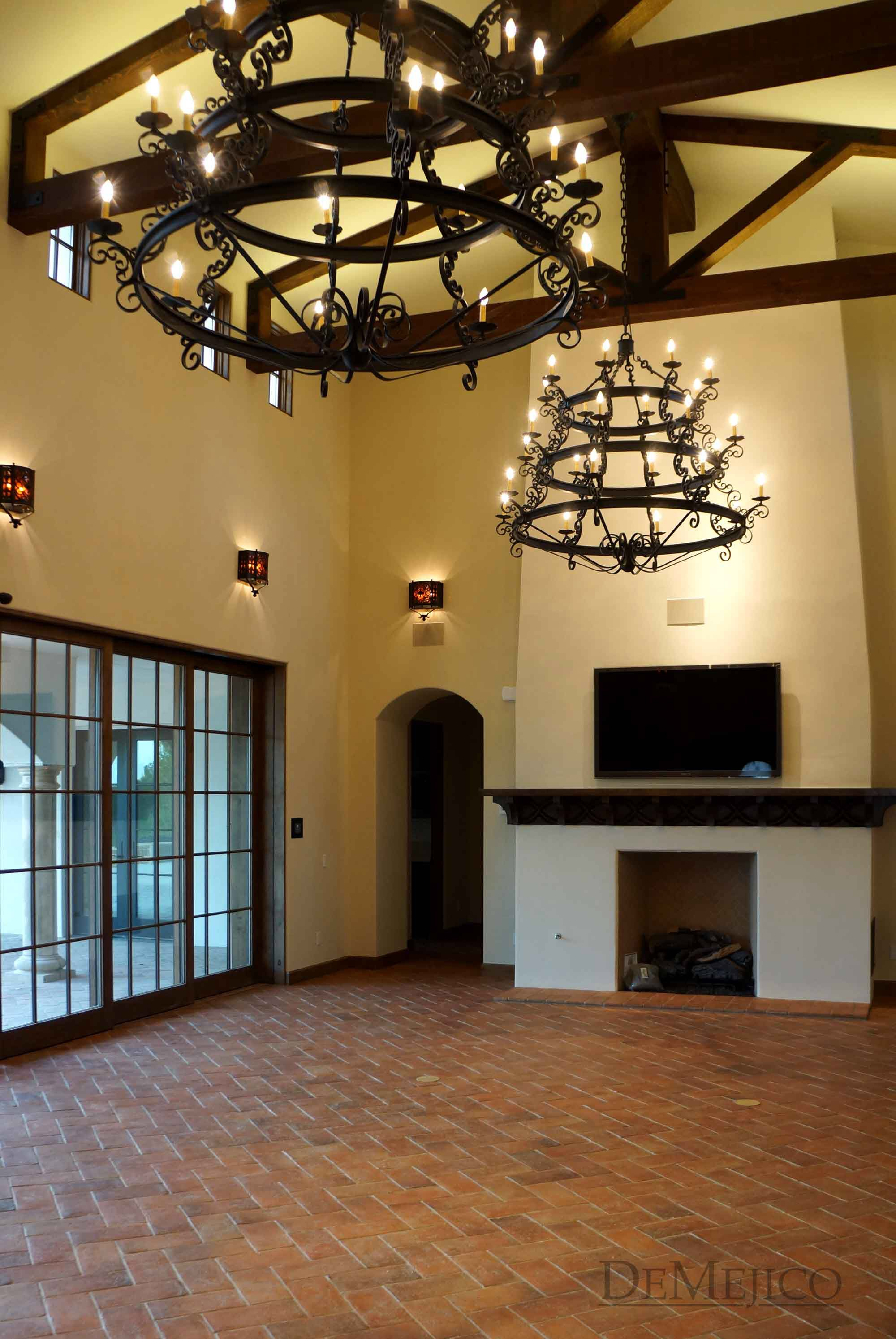 Spanish colonial Gothic Revival Chandeliers – Colonial Chandeliers Lighting