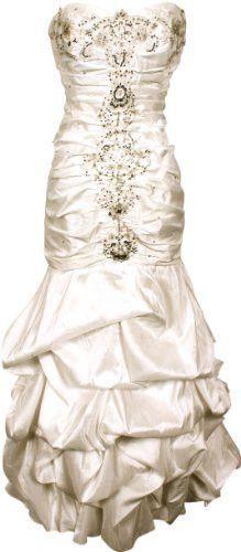 Beaded Taffeta Long Evening Gown Prom Homecoming Dress