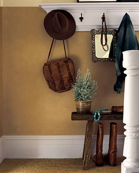 Ralph Lauren Suede Paint Brings Texture And Warmth Love The Contrast Of Camel White Have Wool Sisal Carpeting