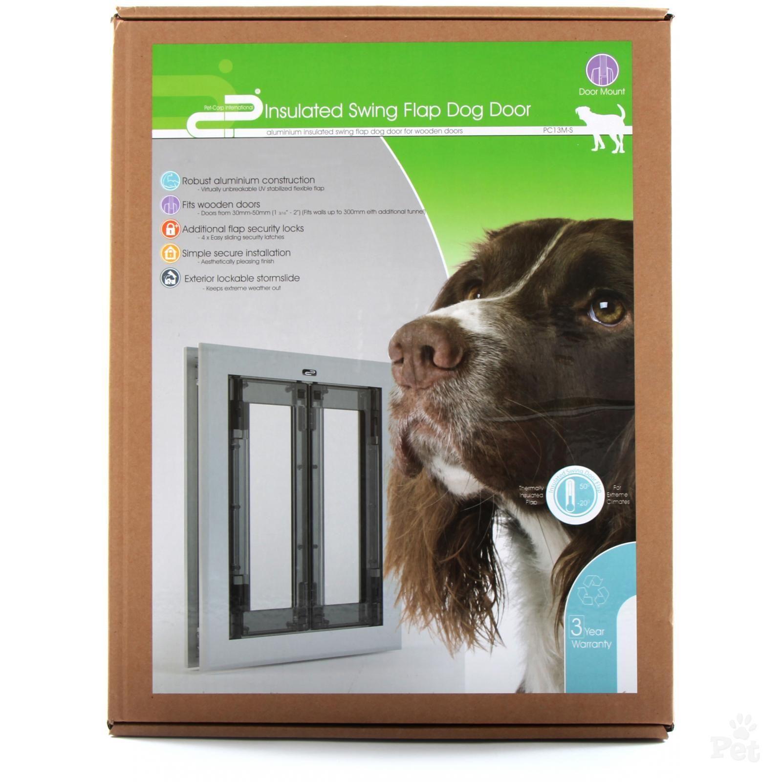 Pet Corp Insulated Swing Flap Dog Door Dogs Pinterest Dog