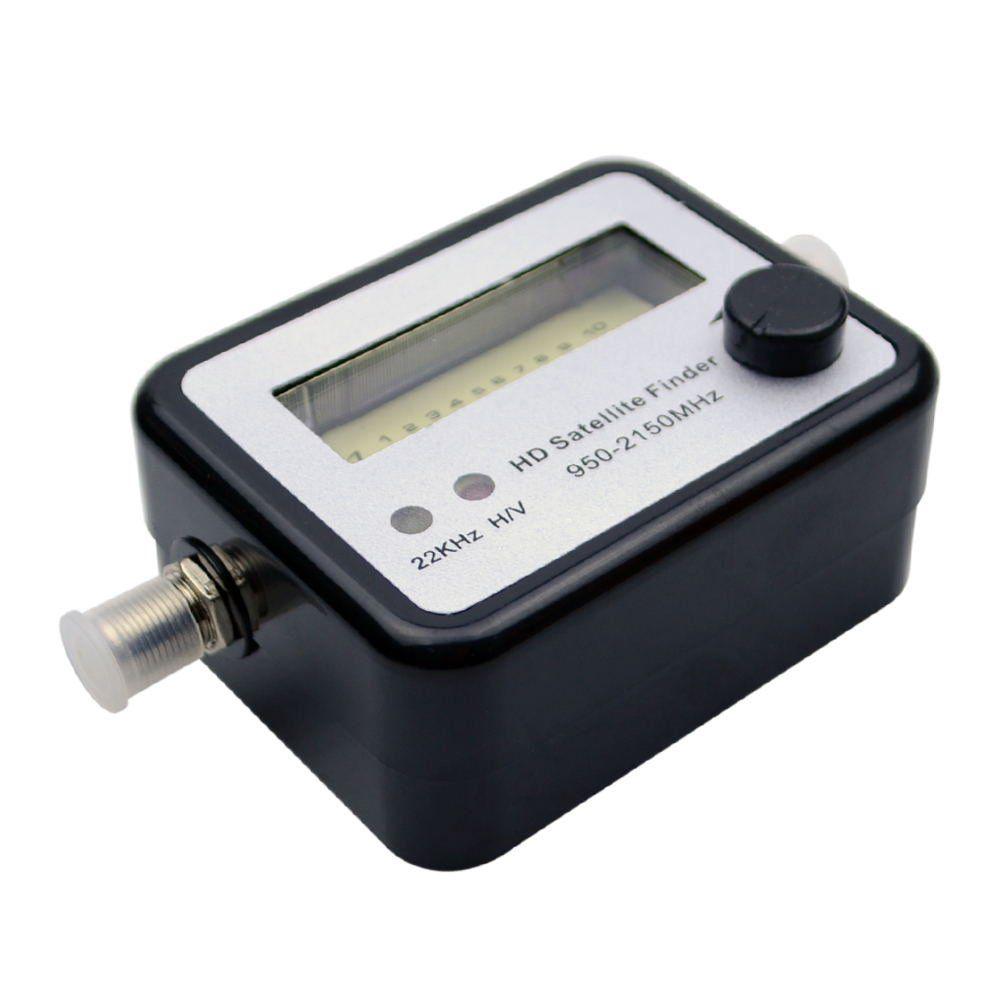 Digital Satellite Signal Dish FTA HD Monitors Signal