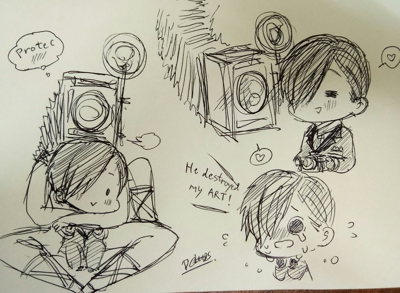 Stefano Obscura Doodle The Evil Within Evil Art