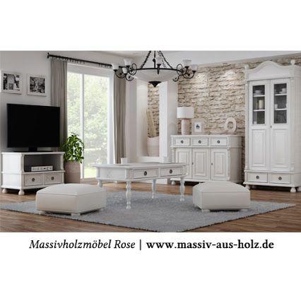 Landhausmöbel In Weiß Im Wohnzimmer Weiße Möbel White