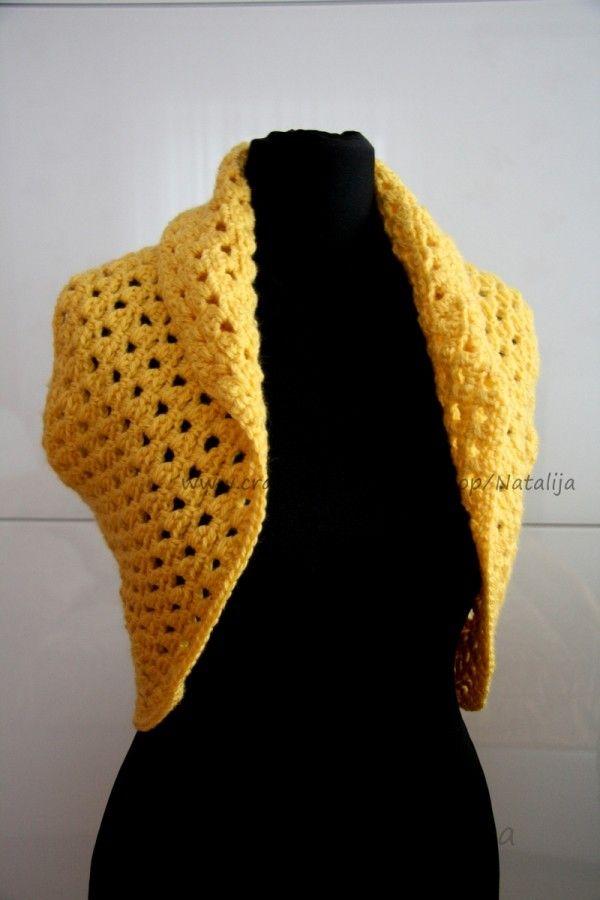 Bolero selber häkeln - DIY-Kurzjacke ☆ | Kleidung | Pinterest ...