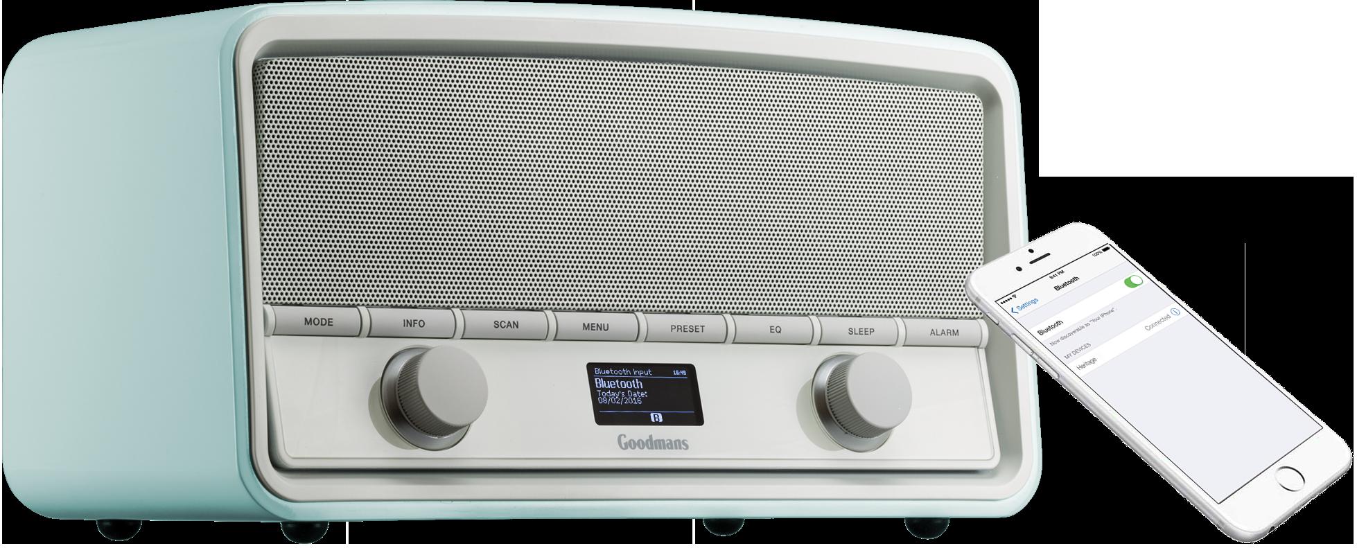 AC Powered LCD Genuine New Battery Philips AE5220//12 Portable Radio FM DAB