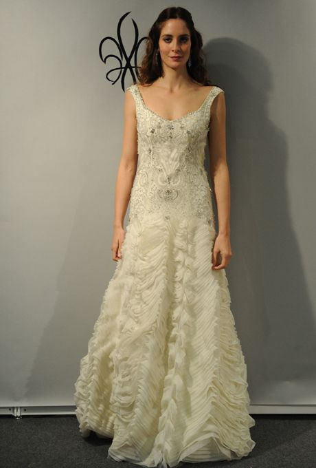 1920s-Inspired Wedding Dresses | Anne barge wedding dresses, Anne ...