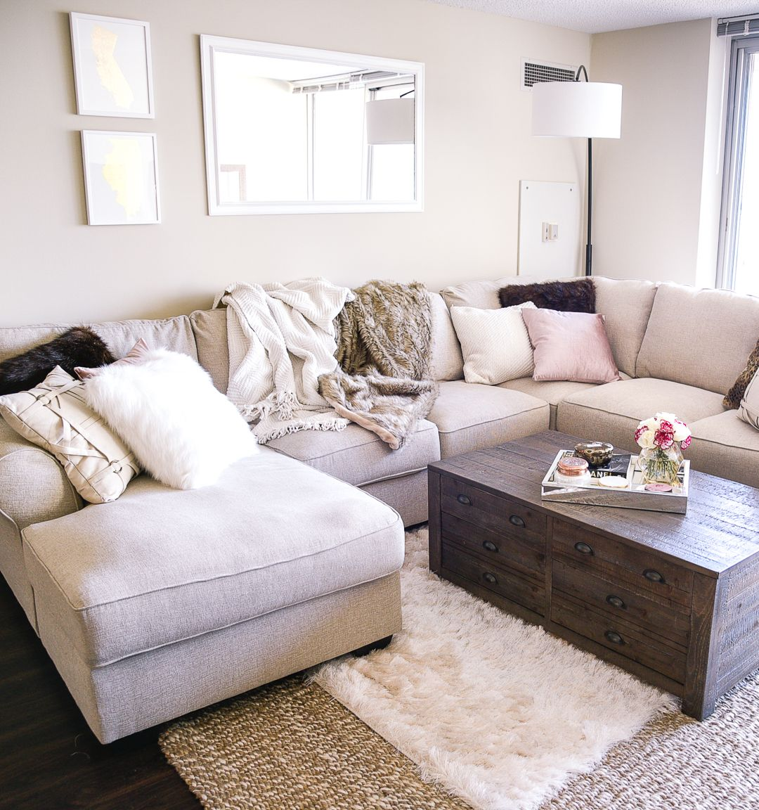 Fall Refresh: A Living Room With Ashley HomeStore
