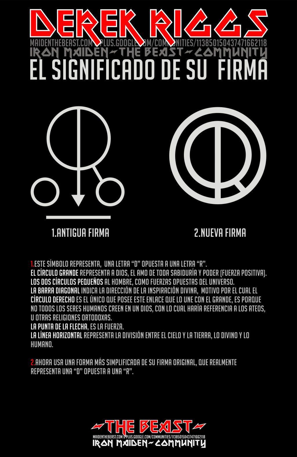 La Firma De Derek Riggs Movimiento Punk Portsmouth Letra D