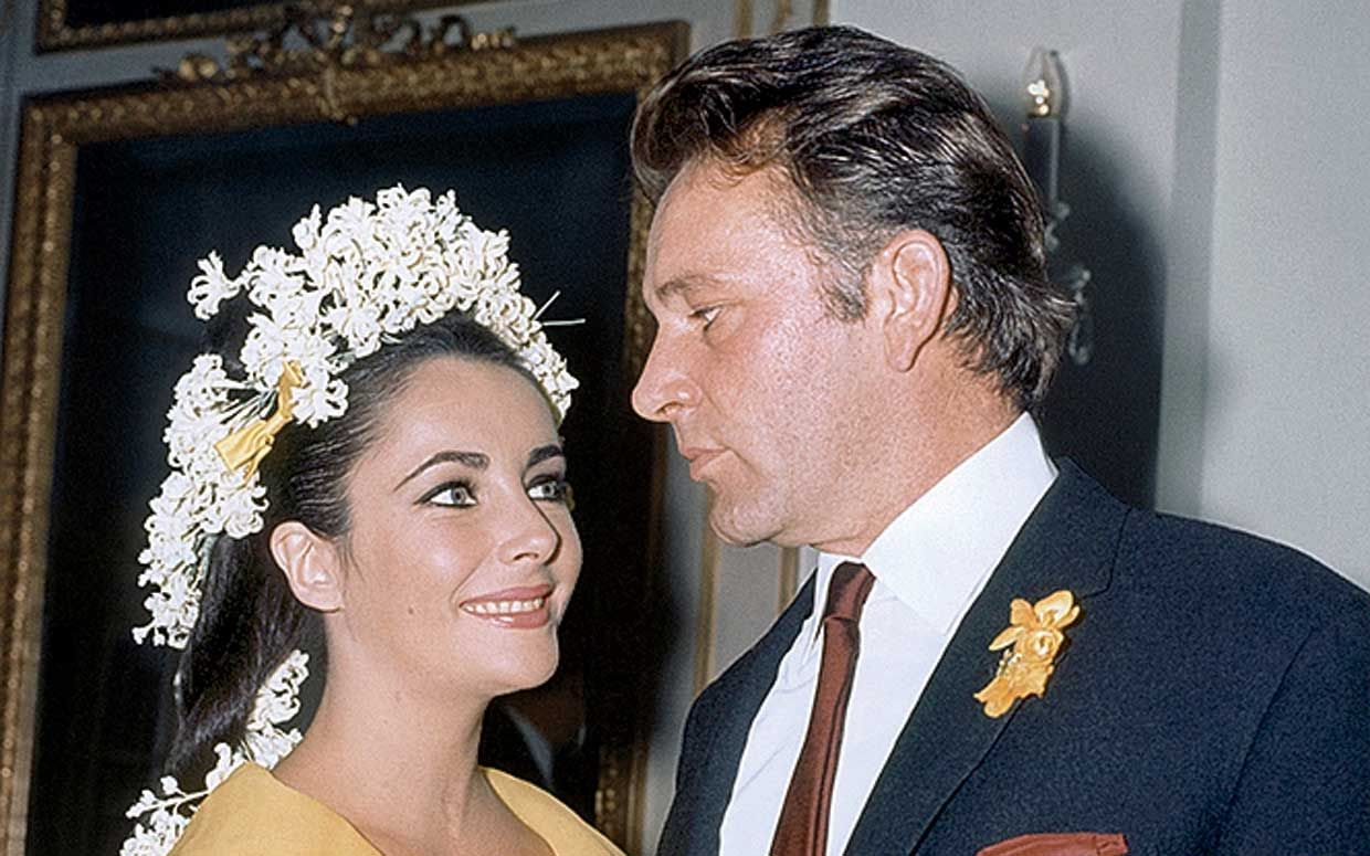 How Long Did Liz Taylor S Marriages To Richard Burton Last Elizabeth Taylor Elizabeth Taylor S Husbands Elizabeth