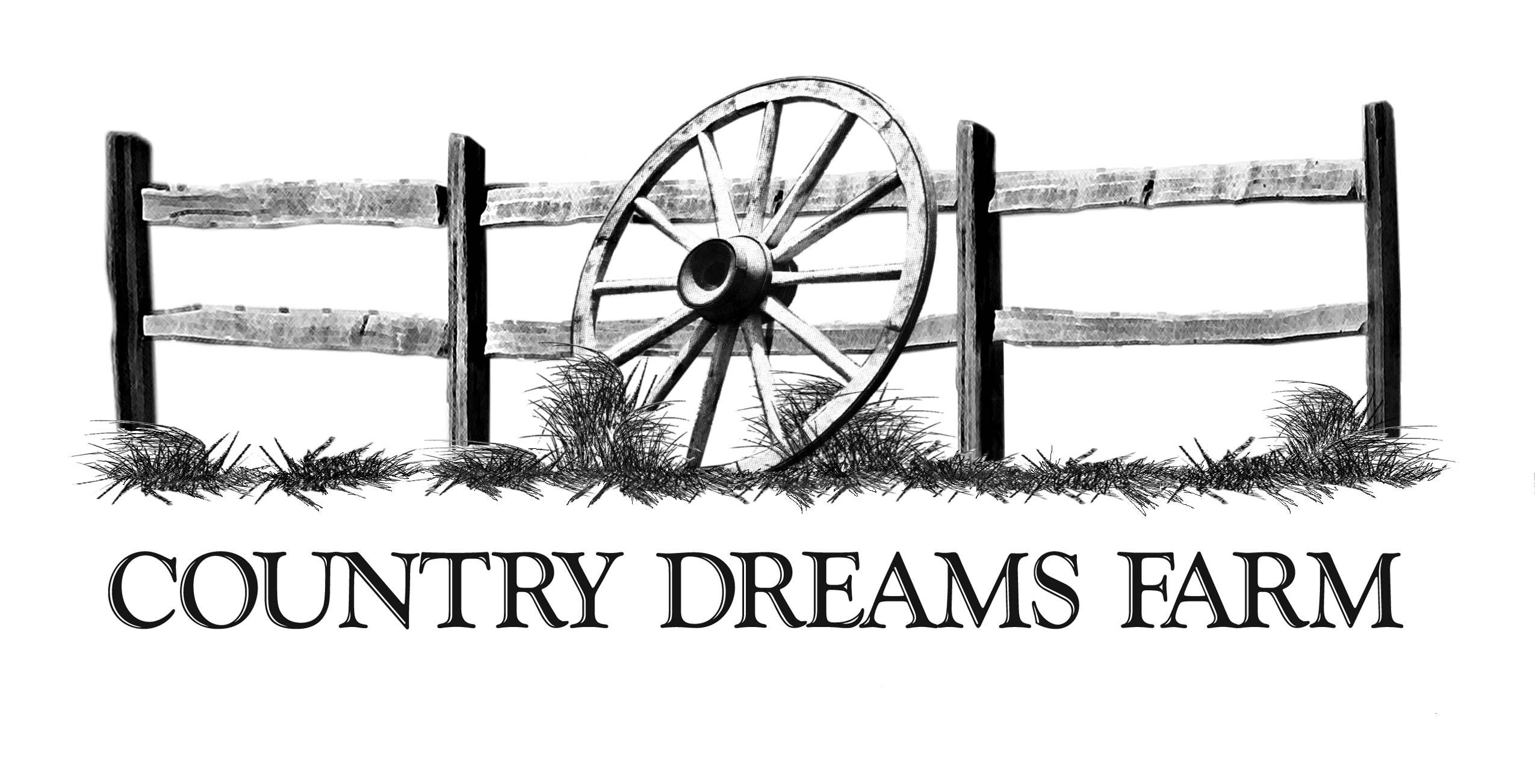 Country Dreams Farm Logo By Gail Olsheski