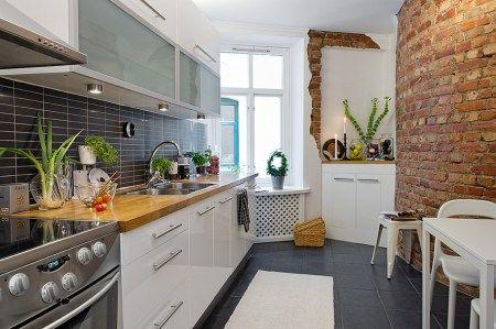 Decoración en blanco, negro y gris | Diseño cocinas modernas, Ver ...