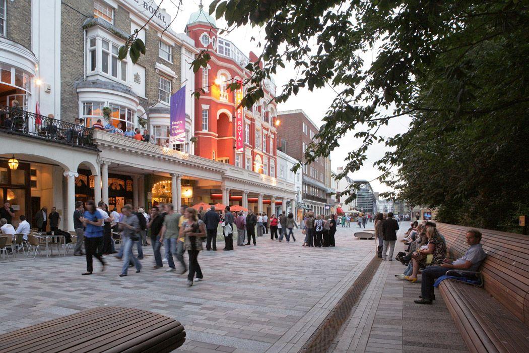 Urban plan Brighton UK