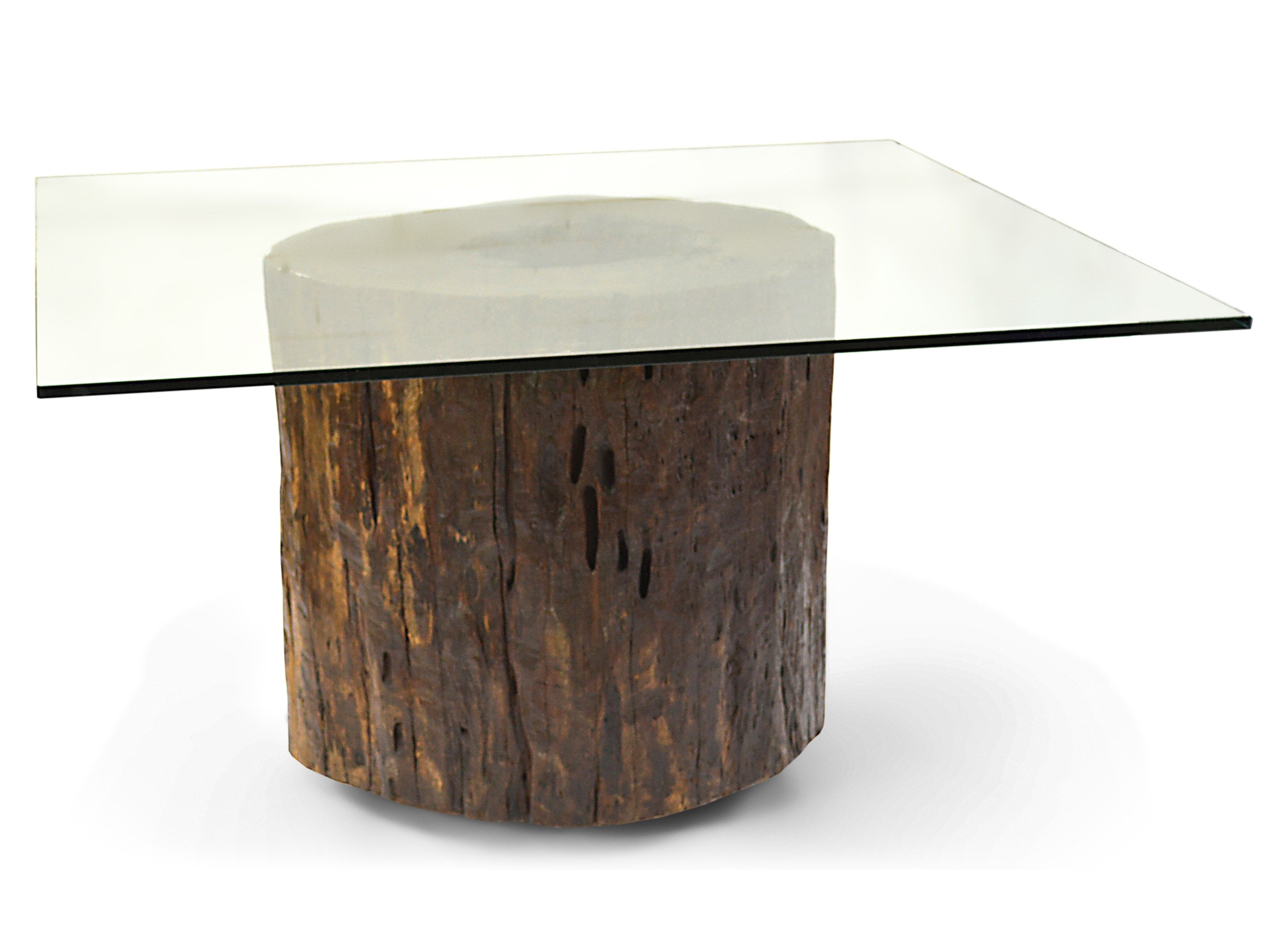 Elegant Glass Top Mussutaiba Tree Trunk Dining Table Rotsen.JPG (3840×2880)
