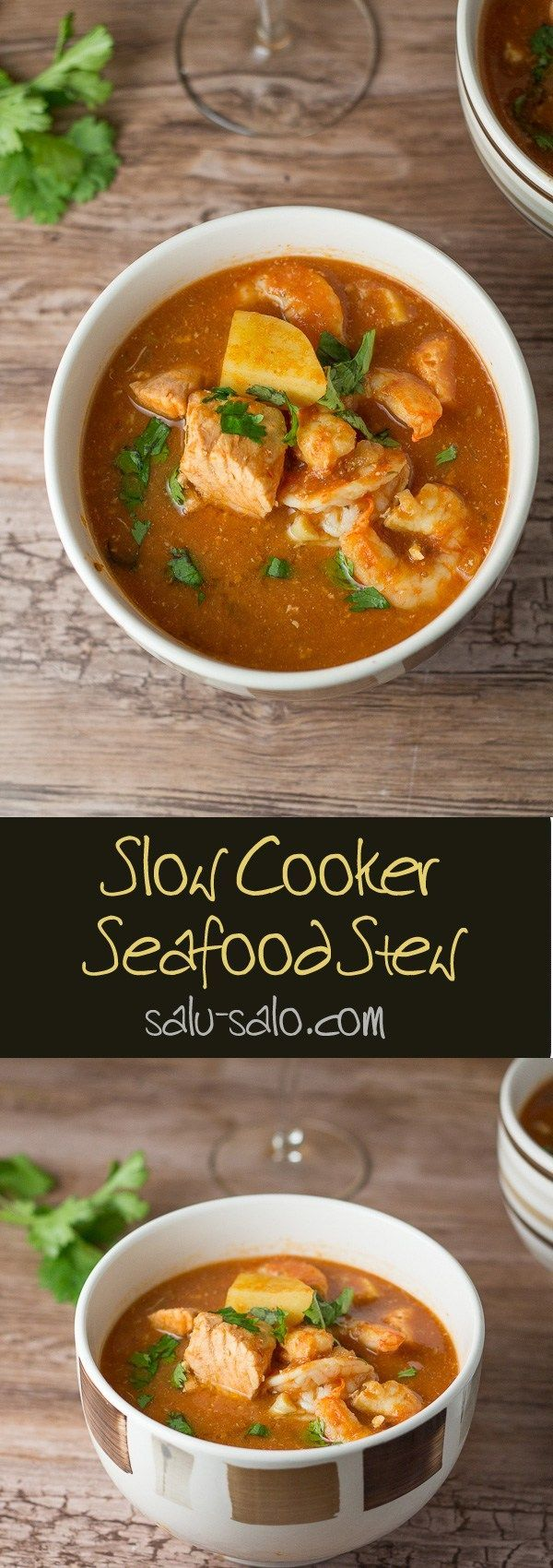 Slow Cooker Seafood Stew - Salu Salo Recipes