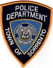Town of Sorrento Police Patch Louisiana