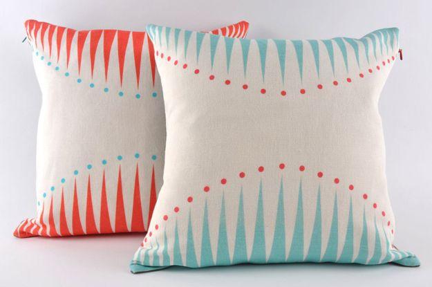 cushions by Camilla Westergaard