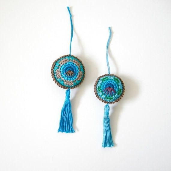 Crochet PATTERN Baubles or Circle Ornaments - 3 different sizes and ...
