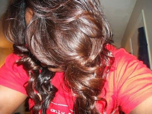 Colored Using Dark N Lovely Red Hot Rhythm Mixed With Loreal Auburn To Darken Tone Down The Red Short Hair Styles Natural Hair Styles Hairstyle