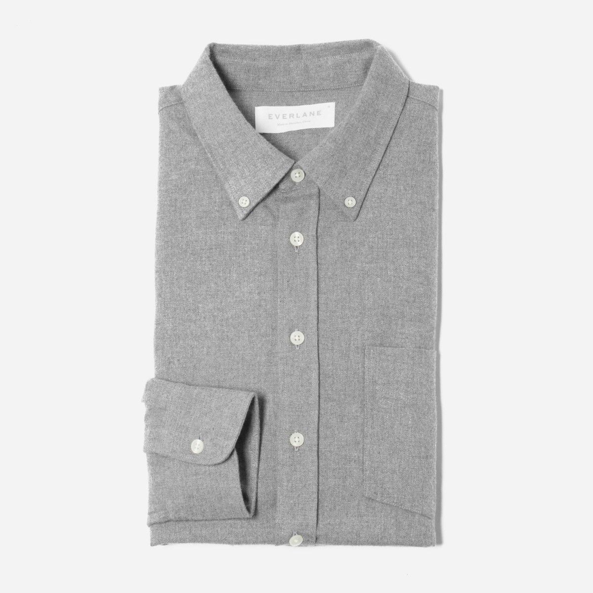 Grey flannel jacket  Everlane  The Modern Flannel Shirt  minyle  Pinterest