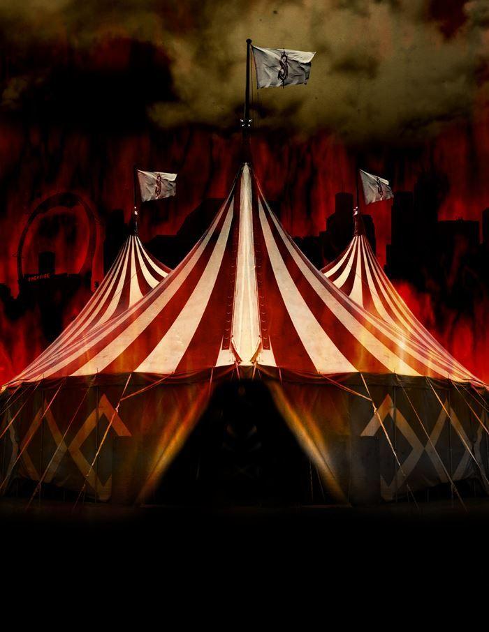 Evil Circus Tent S?s & Evil Circus Tent S?s | Circus of Doom | Pinterest