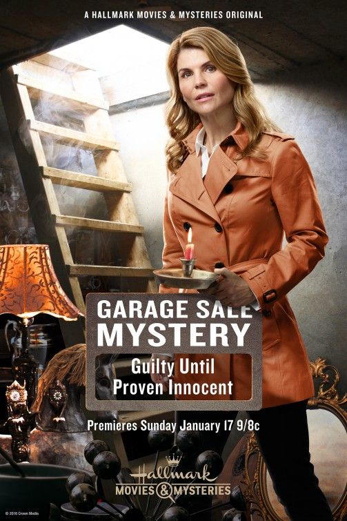 Garage Sale Mystery Guilty Until Proven Innocent Tv Poster Garage Sale Mystery Movies Hallmark Movies
