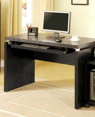 Coaster Furniture Black Wood Computer Desk Black Office