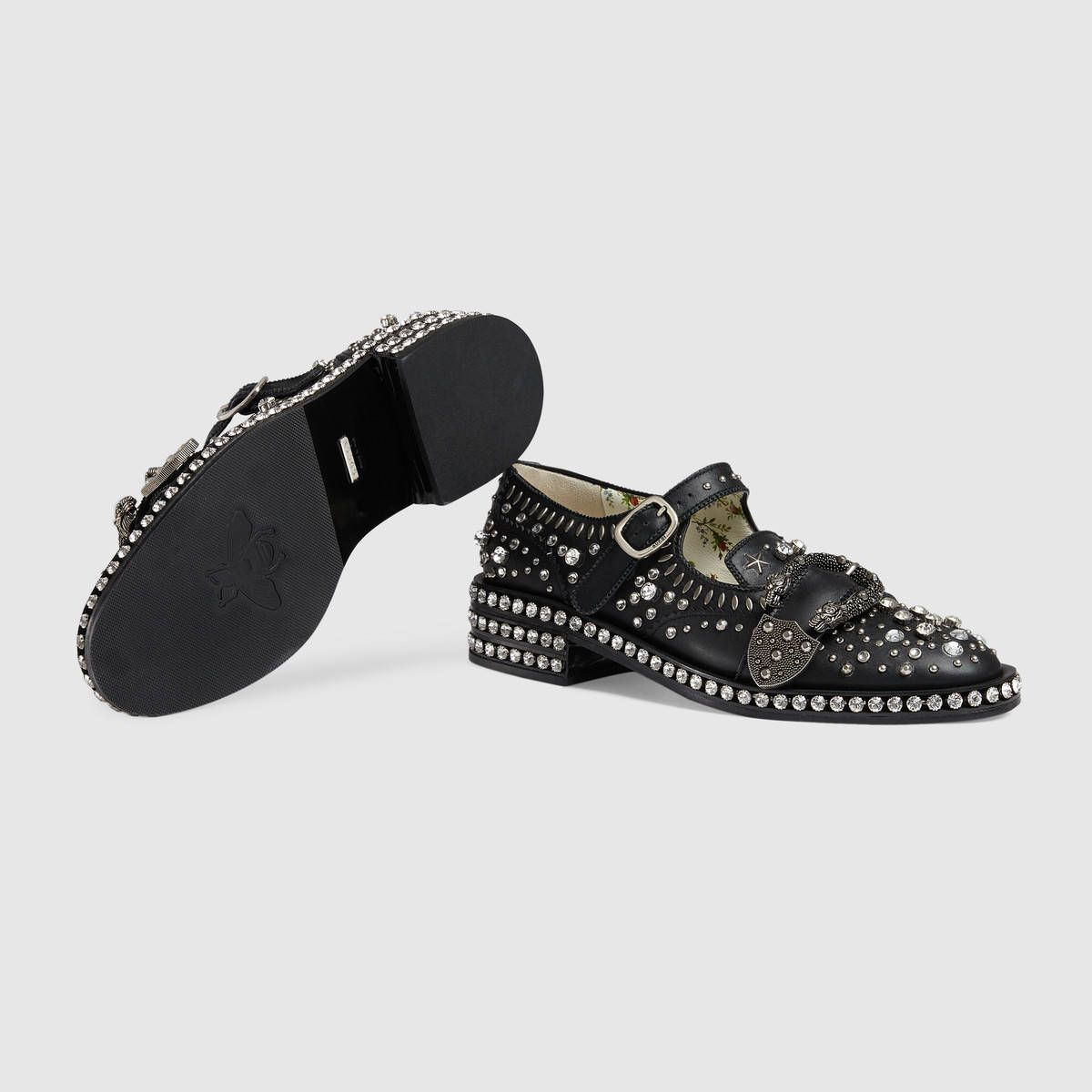 90301f0a Gucci Queercore brogue shoe with crystals Detail 5 | Gucci 2017 in ...