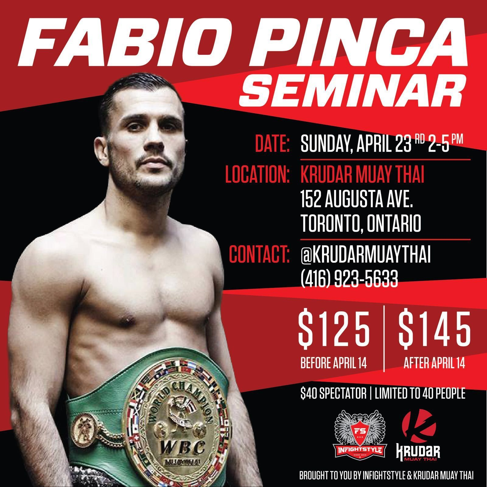 Fabio Pinca Seminar Digital Ticket