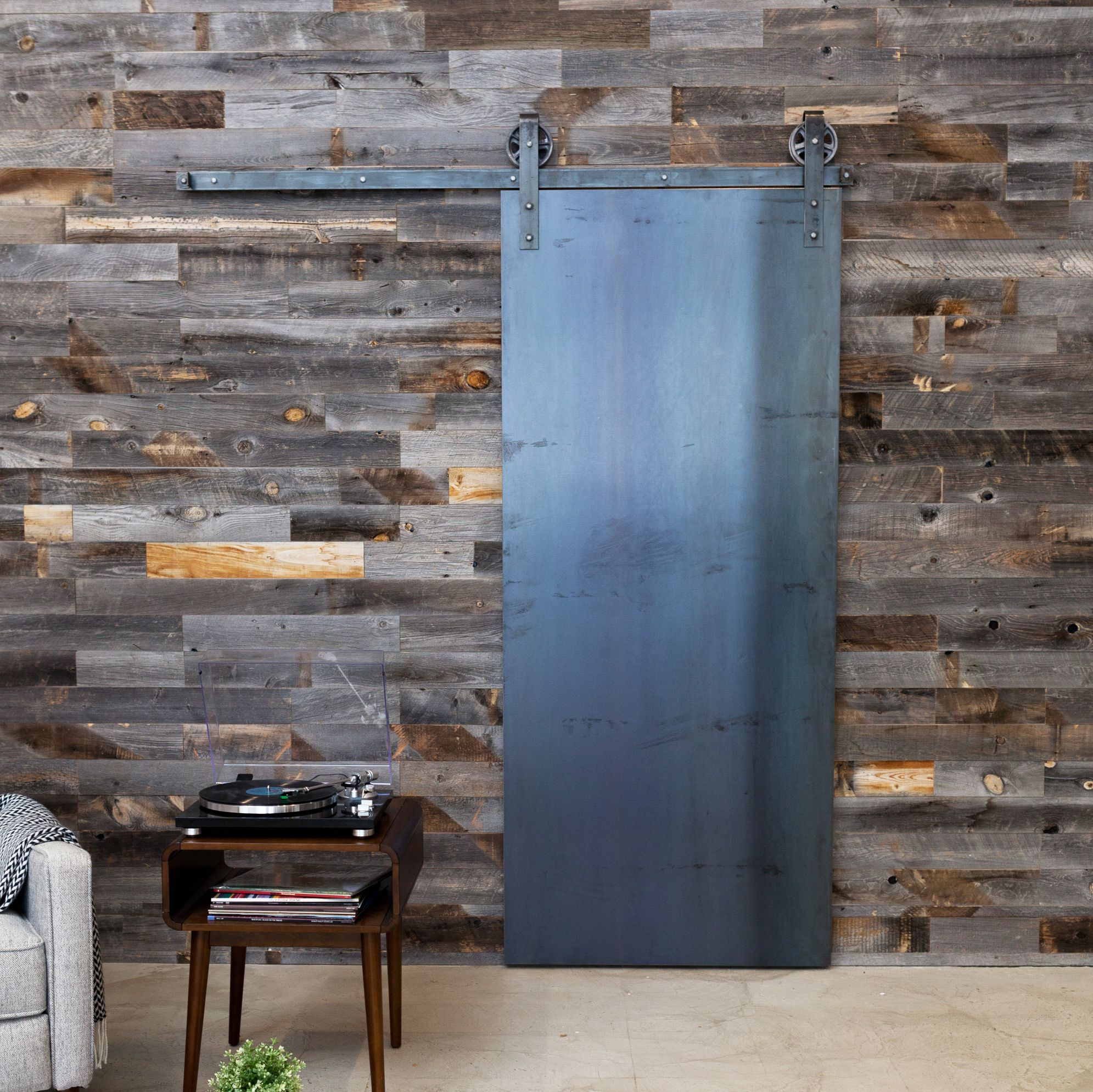 Overlapping Sliding Barn Doors Industrialpanelnew Industrial Style Pinterest Barn Doors