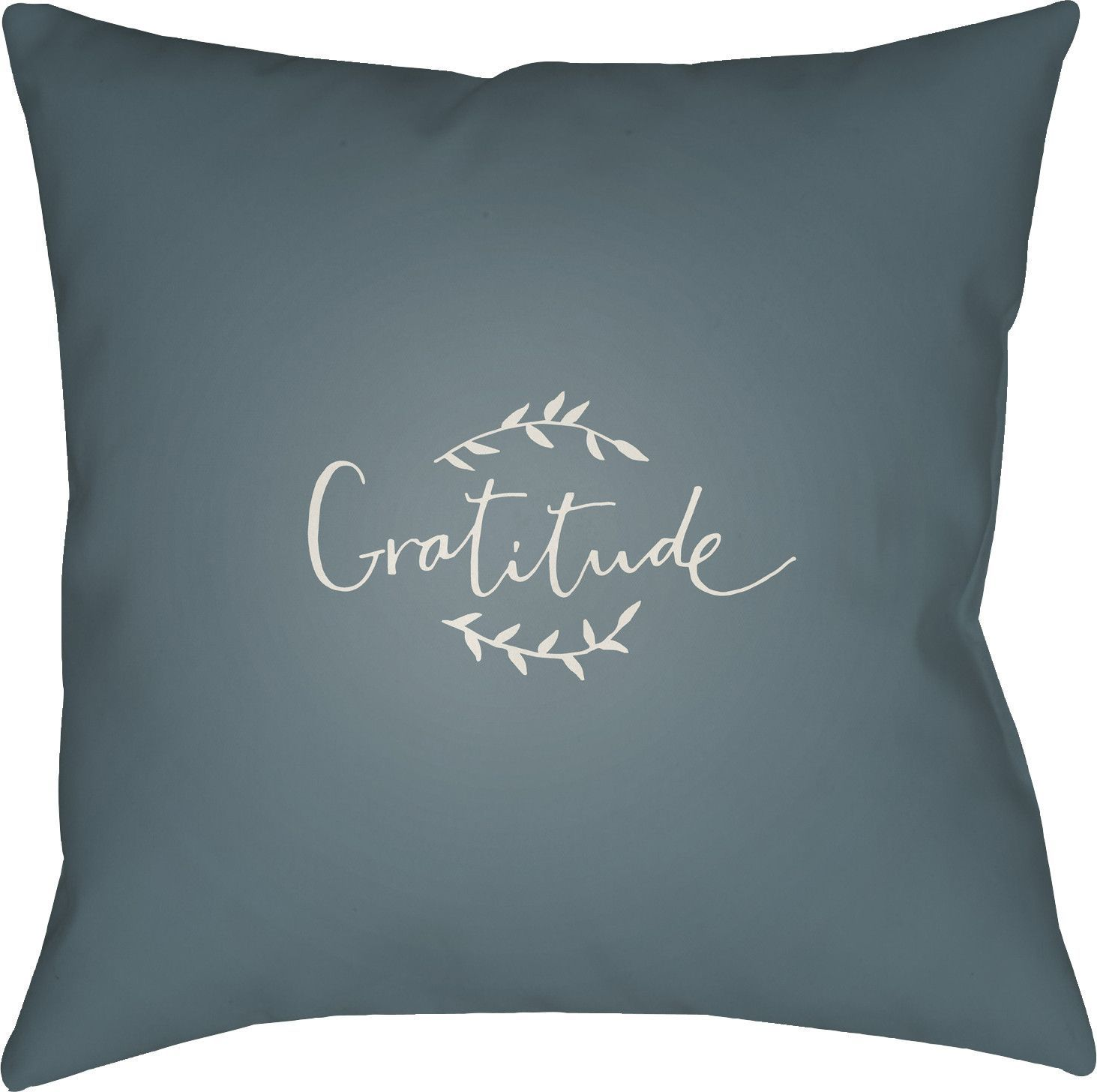 Gratitude Indoor/Outdoor Throw Pillow