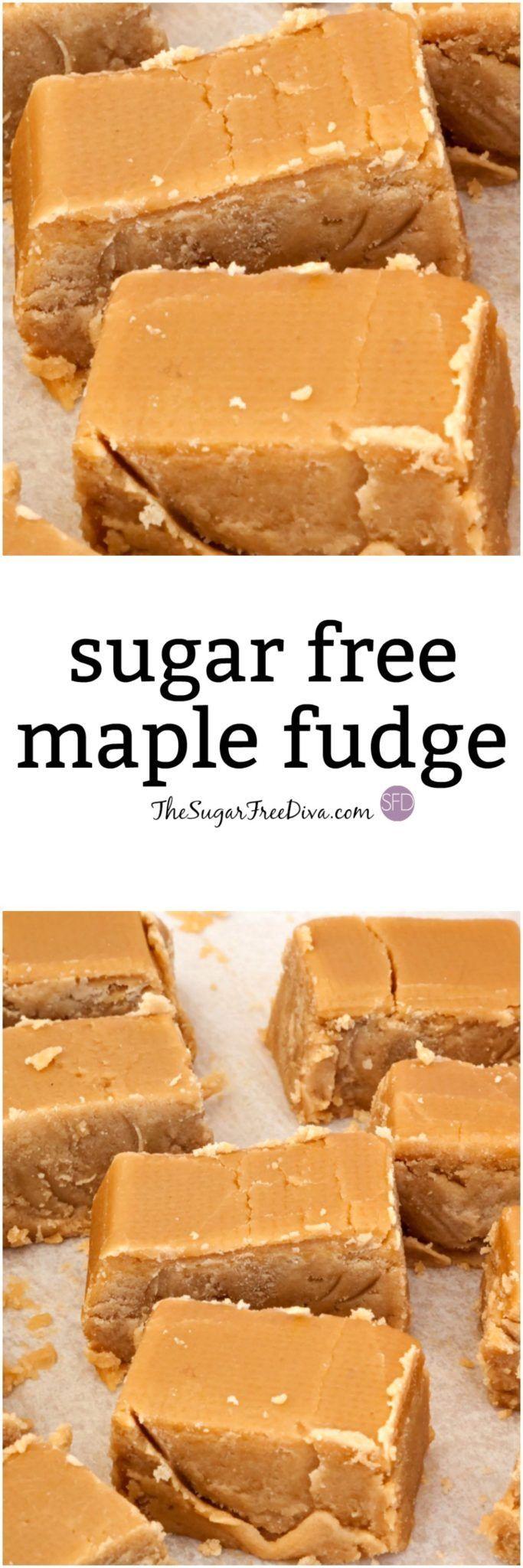 This is a delicious recipe for Sugar Free Maple Fudge!  via @thesugarfreediva