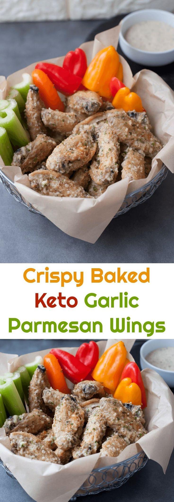 Crispy Baked Garlic Parmesan Wings Recipe Garlic