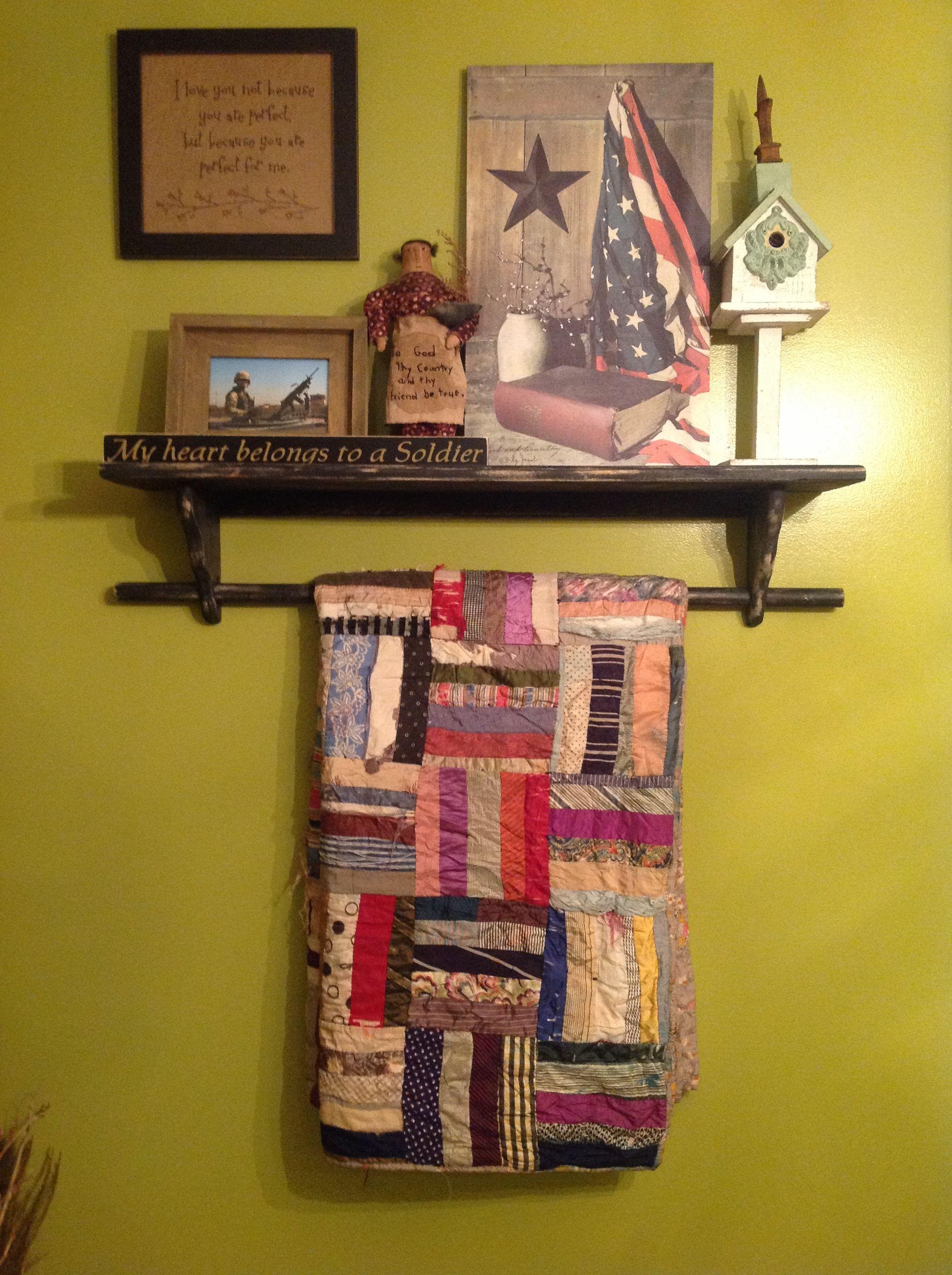 My kitchen quilt rack   Quilt rack, Quilt display, Home decor