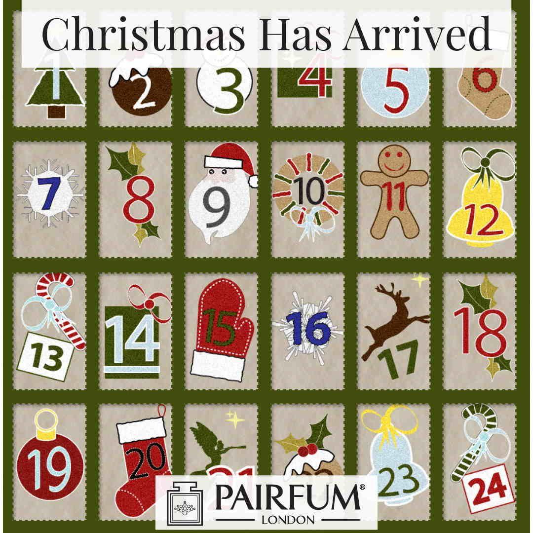 Christmas Has Arrived On The Advent Calendar