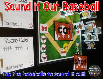 Sound it Out Baseball Game