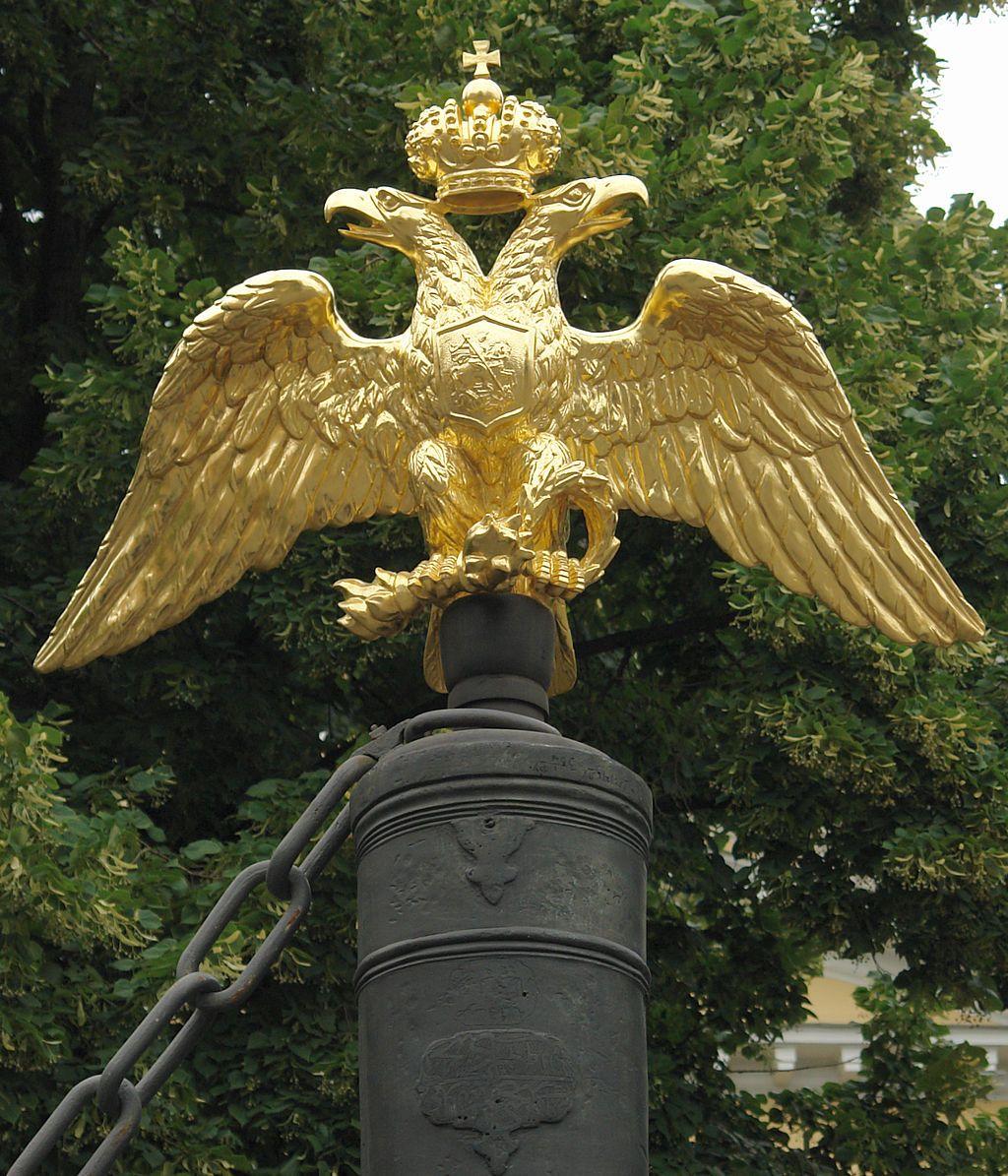 фото двуглавого орла бетонный полированный