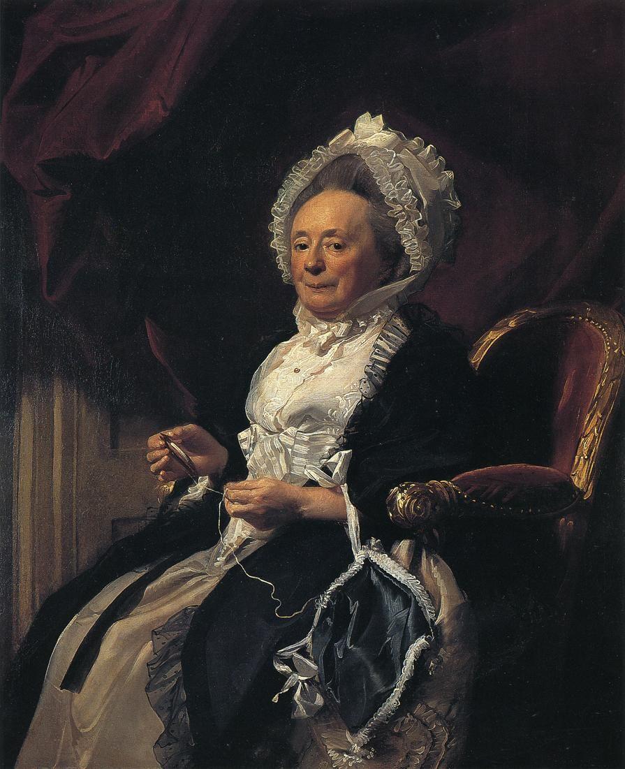 Mrs. Seymour Fort by John Singleton Copley