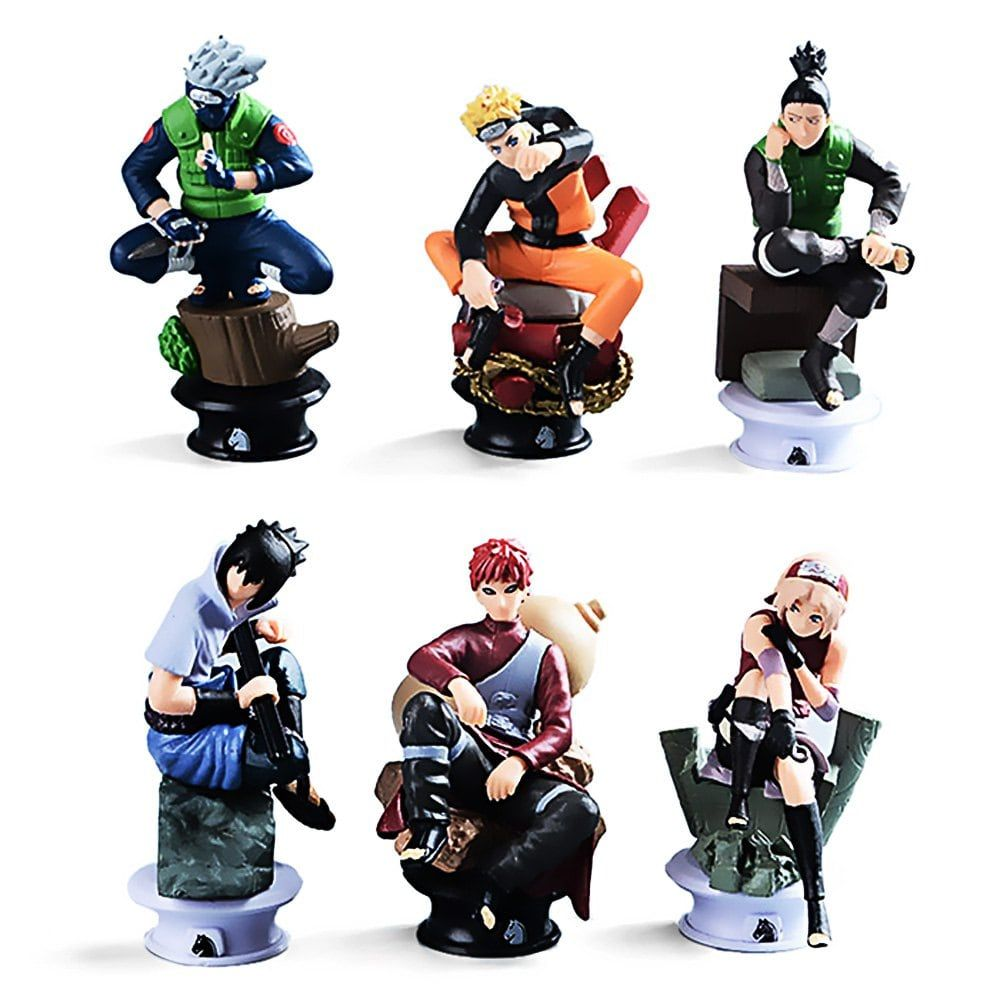 334 inch pvc abs static action figure animation