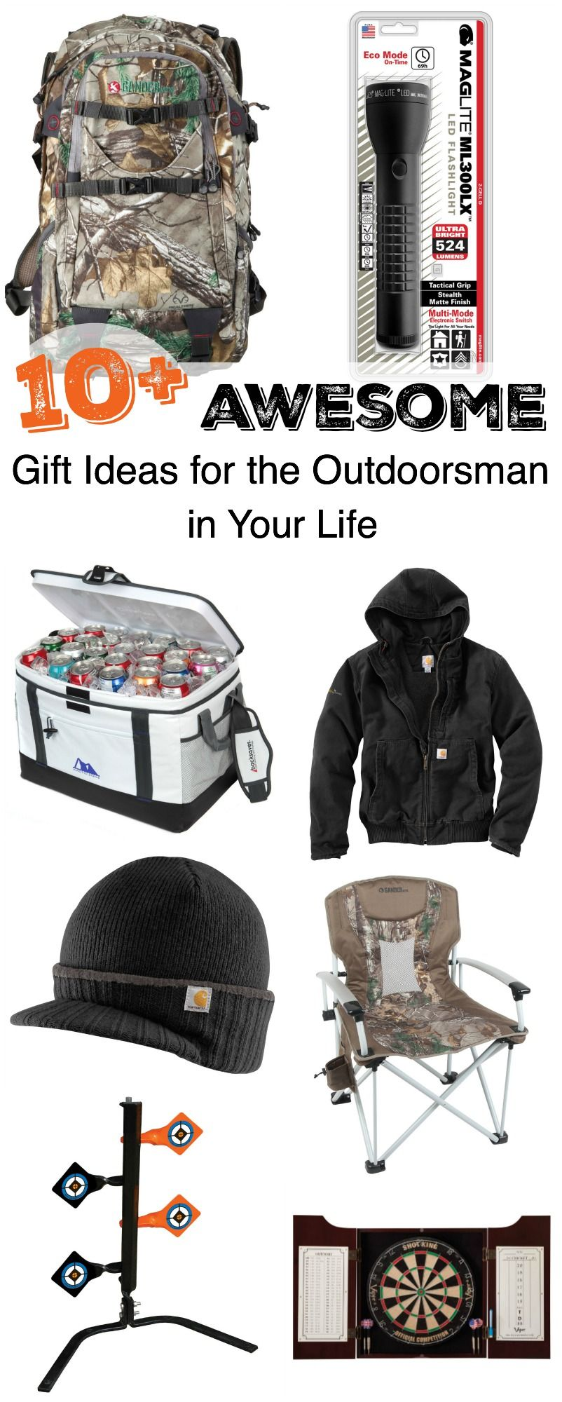 10 Awesome Gift Ideas For The Outdoorsman In Your Life The Realistic Mama Outdoorsman Gifts Best Gifts Gifts
