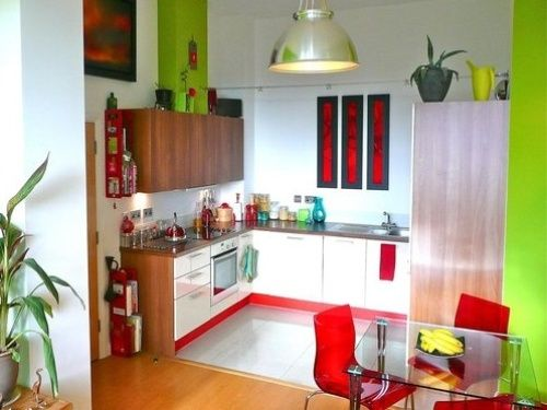 Lime Green And Red Kitchens Red And Lime Green Kitchen