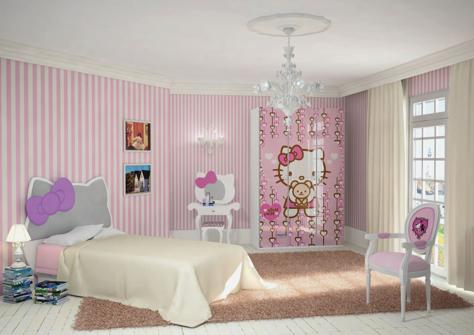 Bedroom Ideas For Girls Hello Kitty     more picture Bedroom Ideas For Girls Hello Kitty please visit www.gr7ee.com