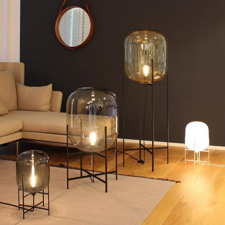 Sebastian Herkner The Maison Et Objet 2019 Designer Of The Year Black Table Lamps Oda Table Lamp Black Floor Lamp