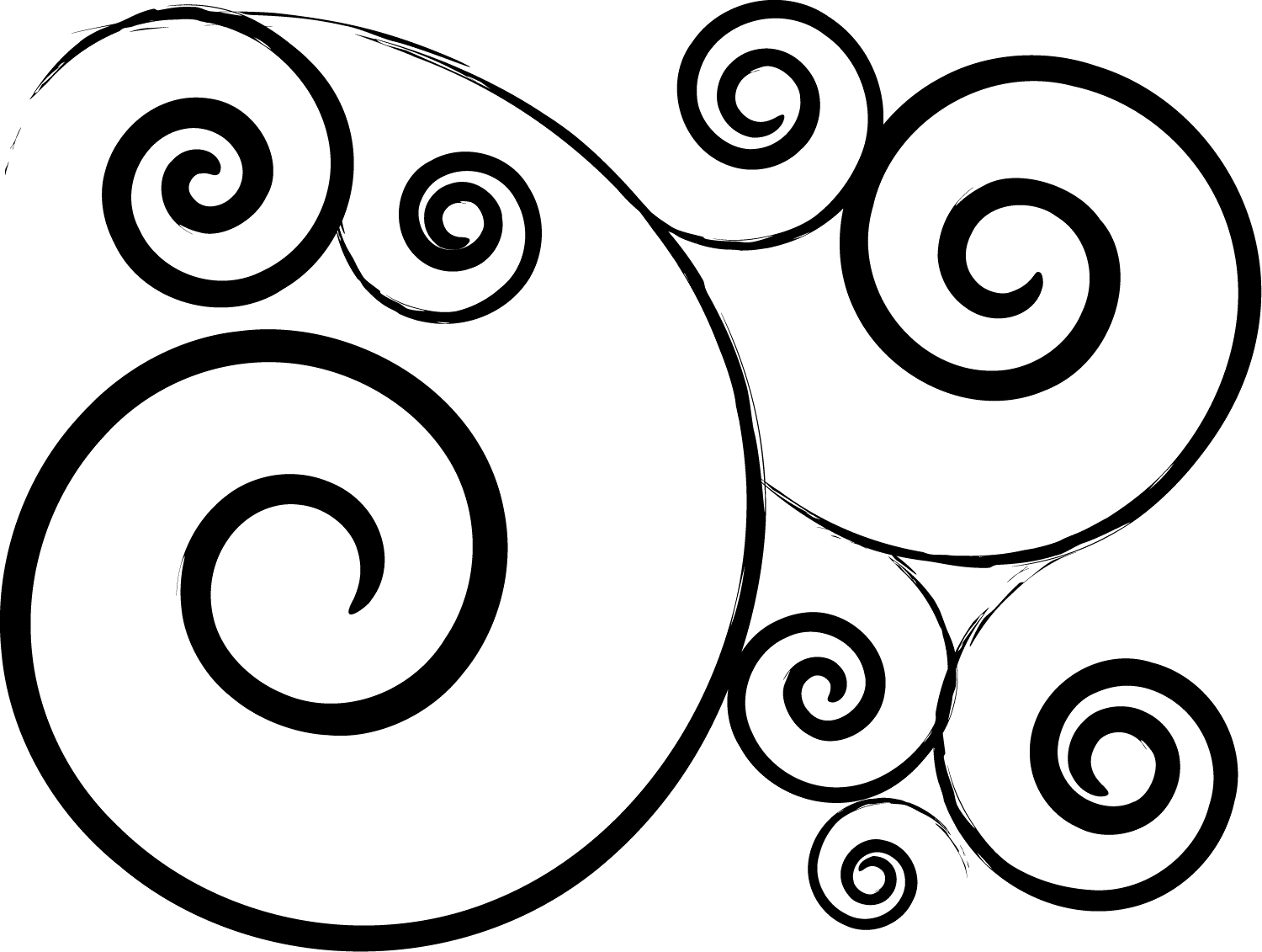 Swirl Patterns Simple Inspiration