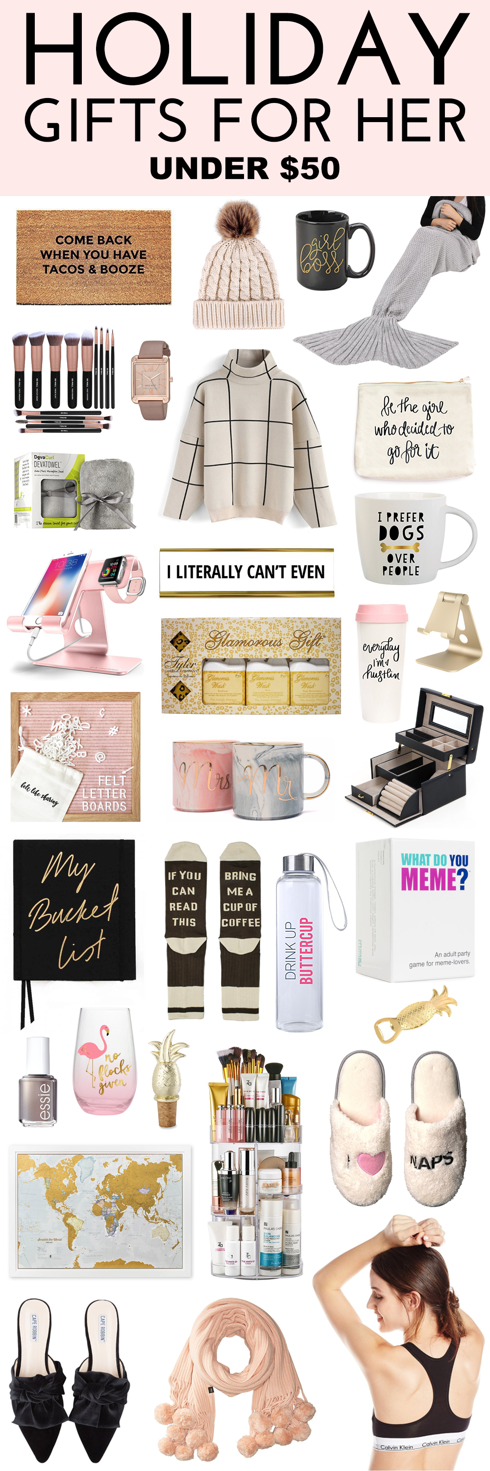 Holiday Gifts For Her Under 50